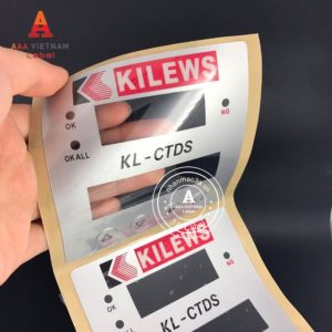 Mẫu tem nhựa nút nổi 36