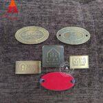 Mẫu tem đồng dập nổi giả cổ 15