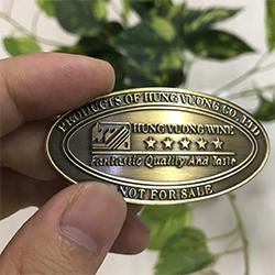 Mẫu tem đồng dập nổi giả cổ 01