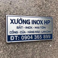 Mẫu tem Inox ăn mòn 33