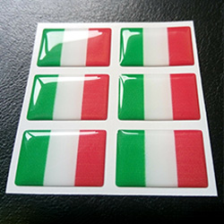 Mẫu tem nhựa phủ keo Epoxy 07